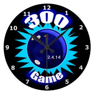 300 Game Blues Large Clock