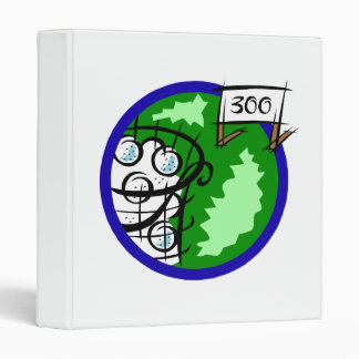 300 golf 3 ring binder