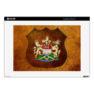 [300] Hong Kong Historical 1959-1997 Coat of Arms Decal For Laptop