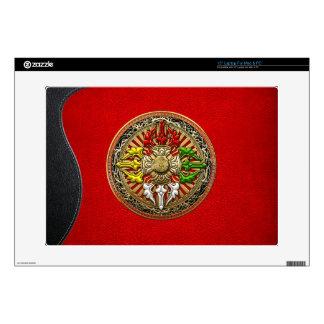 [300] Mandala doble tibetana de Dorje Portátil Skin