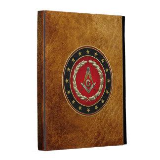 [300] Masonic Square and Compasses [3rd Degree] iPad Folio Cases