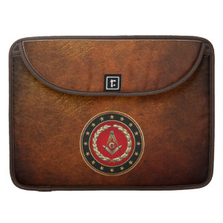 [300] Masonic Square and Compasses [3rd Degree] Sleeve For MacBooks