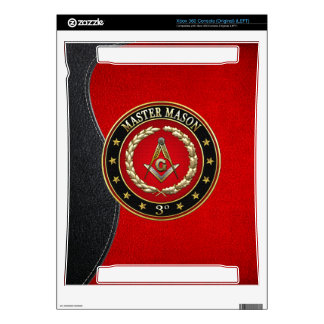 [300] Master Mason, 3rd Degree [Special Edition] Xbox 360 Console Skins