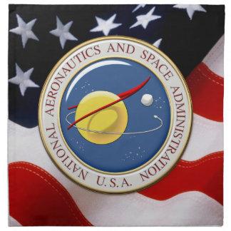 [300] NASA Emblem [3D] Napkin