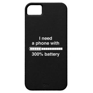 300 Percent Battery iPhone SE/5/5s Case