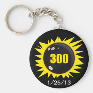 300 Perfect Game Keychain