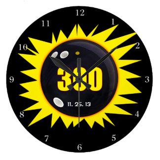 300 Perfect Game Large Clock