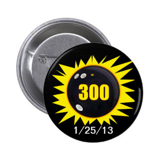 300 Perfect Game Pinback Button