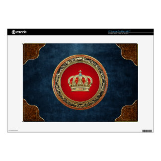 [300] Prince-Princess King-Queen Crown [Belg.Gold] Skin For Laptop