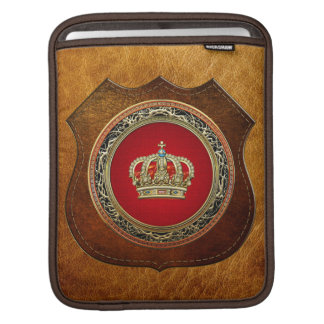 [300] Prince-Princess King-Queen Crown [Belg.Gold] Sleeve For iPads