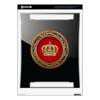 [300] Prince-Princess King-Queen Crown [Belg.Gold] Xbox 360 Decal