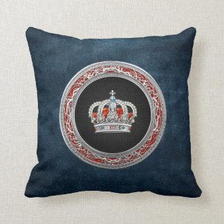 [300] Prince-Princess King-Queen Crown [Silver] Pillows