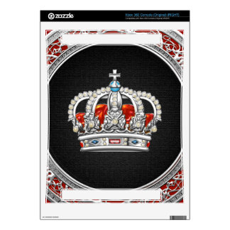 [300] Prince-Princess King-Queen Crown [Silver] Skins For The Xbox 360