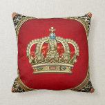 [300] Príncipe-Princesa Rey-Reina Crown [Belg.Gold Cojines