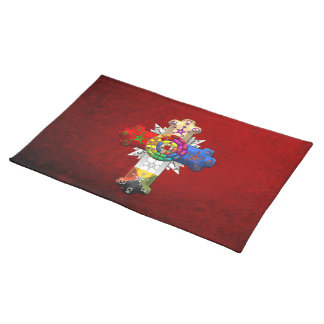 [300] Rosy Cross (Rose Croix) Cloth Placemat
