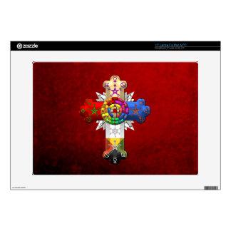 [300] Rosy Cross (Rose Croix) Laptop Decals