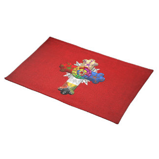 [300] Rosy Cross (Rose Croix) Placemat