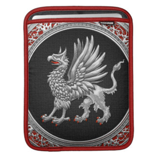 [300] Sacred Silver Griffin Sleeve For iPads