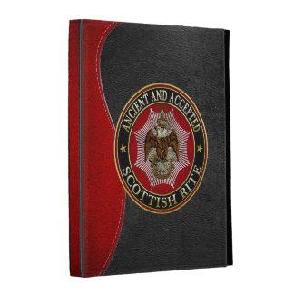[300] Scottish Rite Double-headed Eagle iPad Folio Covers