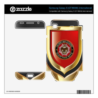 [300] Scottish Rite Double-headed Eagle Samsung Galaxy S Decals