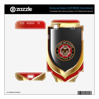 [300] Scottish Rite Double-headed Eagle Samsung Galaxy S Decal