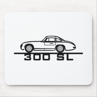 300 SL Panamericana Gullwing Racer Mouse Pad