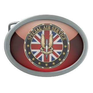 [300] Special Air Service (SAS) Badge [3D] Belt Buckle