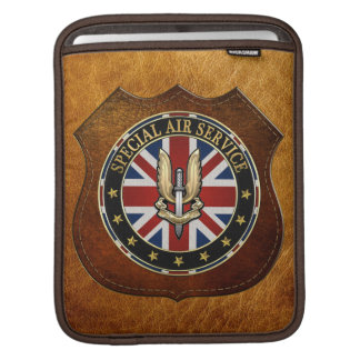 [300] Special Air Service (SAS) Badge [3D] Sleeve For iPads