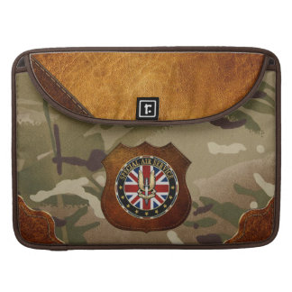 [300] Special Air Service (SAS) Badge [3D] Sleeve For MacBooks