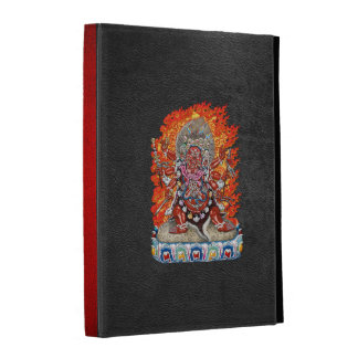 [300] Tibetan Thangka  - Wrathful Deity Hayagriva iPad Folio Covers