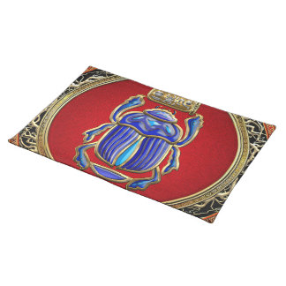 [300] Treasure Trove: Ancient Egyptian Scarab Placemat