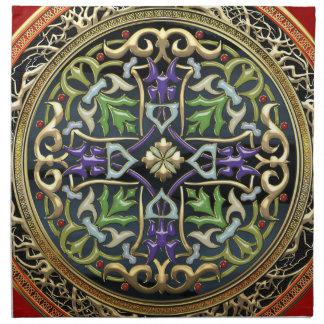 [300] Treasure Trove: Celtic Cross Cloth Napkin