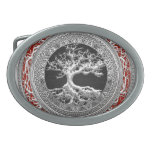 """[300] Treasure Trove: Celtic Tree of Life [Silver] Belt Buckle<br><div class='desc'>Introducing """"Treasure Trove 3D"""" Collection by C.7 Design Studio. Here you will find customizable products, featuring Celtic Tree of Life - an ancient symbol illustrating the idea that all life on earth is related. The tree of knowledge, connecting heaven and the underworld, and the tree of life, connecting all forms...</div>"""