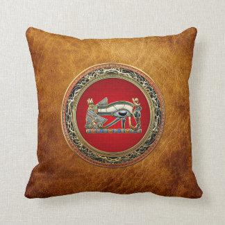[300] Treasure Trove: The Eye of Horus Throw Pillow