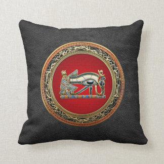 [300] Treasure Trove: The Eye of Horus Throw Pillows