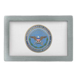 [300] U.S. Department of Defense (DOD) Emblem [3D] Belt Buckle