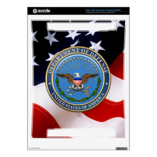[300] U.S. Department of Defense (DOD) Emblem [3D] Decals For Xbox 360