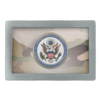 [300] U.S. Department of State (DoS) Emblem [3D] Belt Buckle
