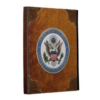 [300] U.S. Department of State (DoS) Emblem [3D] iPad Folio Cover