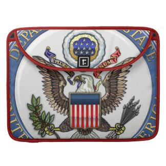 [300] U.S. Department of State (DoS) Emblem [3D] MacBook Pro Sleeve
