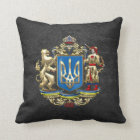 [300] Ukraine: Proposed Greater Coat of Arms Throw Pillow
