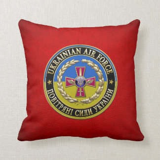 [300] Ukrainian Air Force [Special Edition] Throw Pillow