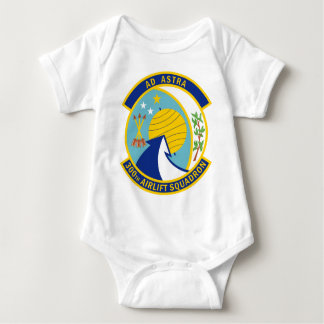 300th Airlift Squadron - Ad Astra - To The Stars Infant Creeper