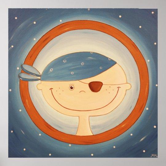 30117. Crazy Sailor Poster