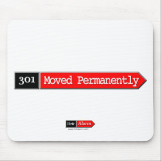 301 - Moved Permanently Mouse Pad