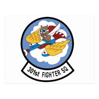 301o Escuadrón de caza Postales