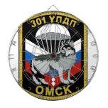 301o régimen del entrenamiento del paracaídas de l tabla dardos