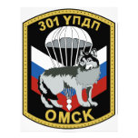 301o régimen del entrenamiento del paracaídas de l membretes personalizados