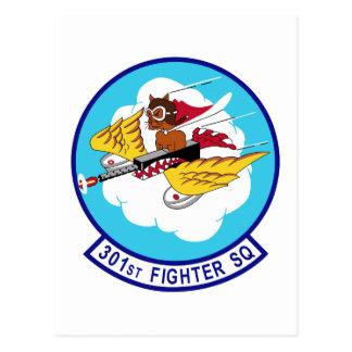 301st Fighter Squadron Postcard