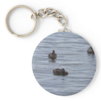 3024 Ducks in water b Keychain